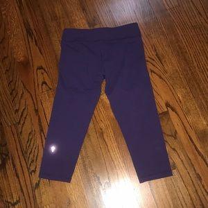 Ivivva ( lululemon ) cropped leggings girls 14